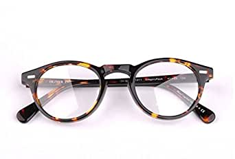 c335e6fd2f3 Oliver Peoples Gregory Peck OV5186 acetate optical specalate prescription  reading Retro Vintage round eyeglass eyeglasses frame