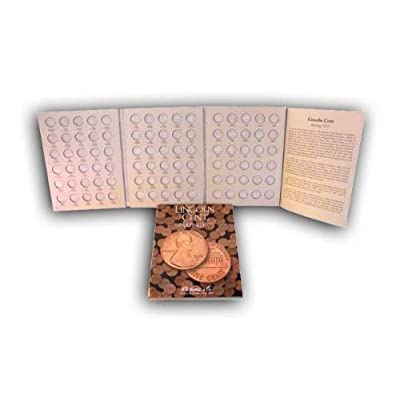 H.E. Harris Coin Folder Book Lincoln Cent Starting 1975 New: Toys & Games [5Bkhe2001672]