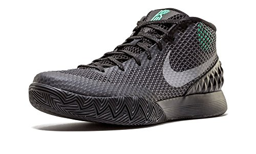 nike KYRIE 1 scarpe sportive da basket alte da uomo 705277 scarpe da tennis Blk, Rflct Slvr-drk Gry-grn Glw