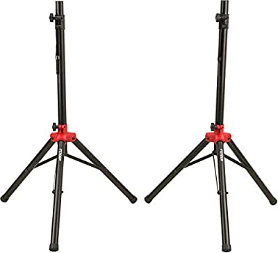 Fender Compact Speaker Stands with Bag from Fender Musical Instruments Corp.