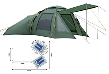 Khyam Freelander DLX Quick Erect Dome Tent  sc 1 st  Amazon UK & Khyam Freelander DLX Quick Erect Dome Tent: Amazon.co.uk: Sports ...