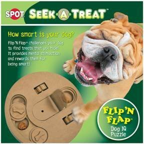 """ETHICAL PRODUCTS – SEEK A TREAT FLIP/FLAP GAME """"Ctg: DOG PRODUCTS – DOG TOYS – ALL OTHER"""""""