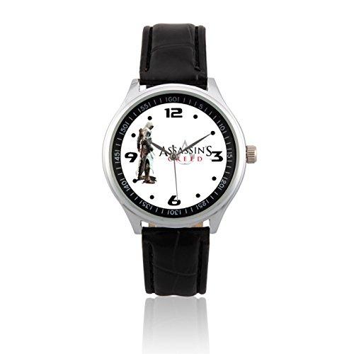 Fashion Adult Wrist Watch Leather Band PSL027 Assassin's Creed #1W