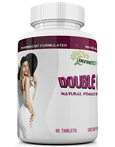 DOUBLE CURVES, the Natural Female Butt Enlargement Formula That Adds More Size and Curves to Your Booty. Buttocks Enhancing Pills. 1 Month (Pills 1 Month Supply)