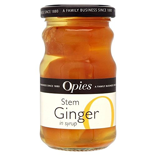 Opies Stem Ginger in Syrup (280g) - Pack of 2 by Opies
