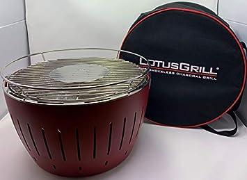 Parrilla de carbón Lotusgrill, sin humo, 35 cm, juego de ...