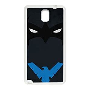 Blue eagle and black bat Cell Phone Case for Samsung Galaxy Note3