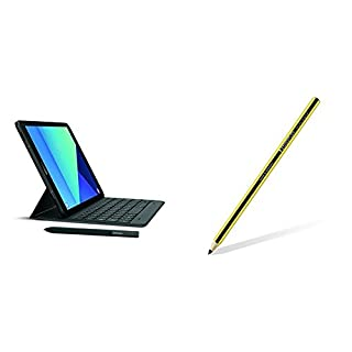 Samsung Galaxy Tab S3 9.7-Inch Tablet w/ S Pen (Black) + Samsung Staedtler Noris Digital Pencil (GP-U999ERIPAAB) (B074KQWGKX) | Amazon price tracker / tracking, Amazon price history charts, Amazon price watches, Amazon price drop alerts