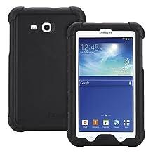 Galaxy Tab 3 Lite 7.0, Tab E Lite 7.0 Case - Poetic [Turtle Skin Series] - Corner/Bumper Protection Grip Protective Silicone Case for Samsung Galaxy Tab 3 Lite 7.0 2014, Tab E Lite 7.0 2016 Black