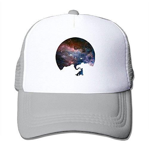 YSDISJE Space Galaxy Nebula Smoker Mesh Hat Unisex Baseball Cap For Boys Girls Quirky Adjustable Snapback Hip Hop Cool Trucker Plain Flat Hats For Dance,Neo-Jazz,Street Jazz,Reggea