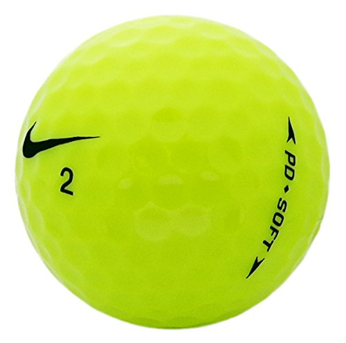Nike PD Yellow Mint Recycled Golf Balls (36 Pack)