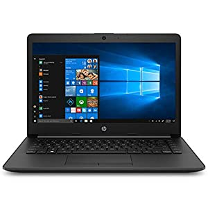 HP 14 Core i3 7th gen 14-inch Thin and Light Laptop (8GB/256GB SSD/Windows 10 Home/MS Office/Jet Black/1.43 kg), 14q-cs0023TU