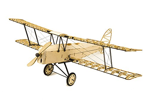 Viloga 3D Puzzles for Adults DIY Tiger Moth Bi-Plane Wooden Models, Laser Cut Balsa Wood Airplane Kits to Build, Perfect Woodcraft Construction Set Aircraft Model Kit for Home Decor Collection ()