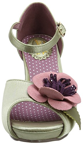 Joe Browns Corsage Vintage Occasion Shoes - Tacones Mujer Green (a-soft Sage)