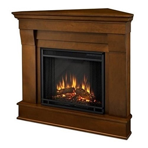 Real Flame 5950E Chateau Corner Electric Fireplace, Small, Espresso