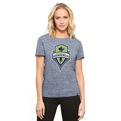 MLS Seattle Sounders Fc Women's '47 MVP Hero Tee, Large, Nightfall (Seattle Cap Sleeve T-shirt)