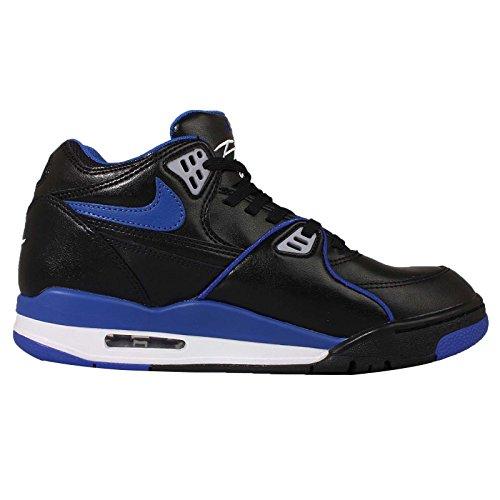 Nike Hombres Air Flight 89 Le, Negro / Juego Royal-black-white Black / Juego Royal-black-white