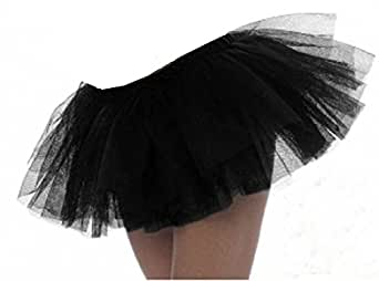 Falda Tutú Negra De 3 Capas EUR 34-42