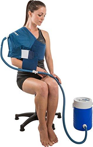 Aircast cryo cuff cold therapy shoulder cryo cuff x for Aircast cryo cuff ic motorized and cuffs