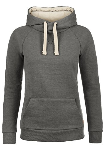 BLEND SHE 20200843ME - Sudaderas con capucha para Mujer Pewter Mix