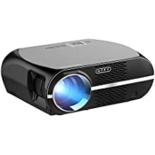 GP100 Video Projector,MTFY 3500 Lumens Portable LCD 1080P HD LED Projector,Home Theater Projector for Movie,TV,Photos,Games,DVD,PC,Laptop Support HDMI,USB,VGA,AV