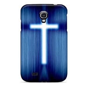 Galaxy S4 Case Cover D Graphics Shining Cross Case - Eco-friendly Packaging