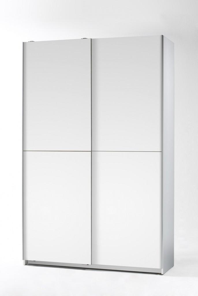 Garderobenschrank Trappeto weiß