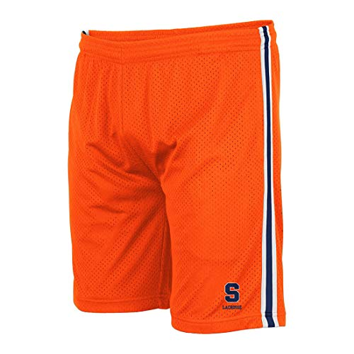 (Lacrosse Unlimited Syracuse Lacrosse Shorts-Adult-Small)