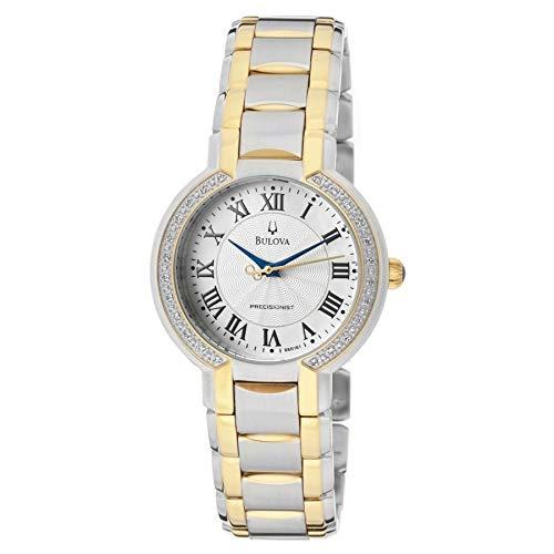 Bulova Women's 98R161 FAIRLAWN Diamond bezel Watch