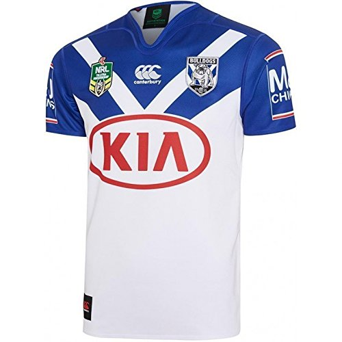 2017 Bankstown Bulldogs Canterbury Replica Home Rugby - Home Jersey Usa Rugby