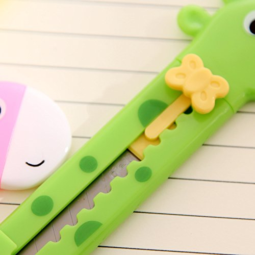 Giraffe Cutter Paper Cutting Razor Blade Office Stationery School Supplies