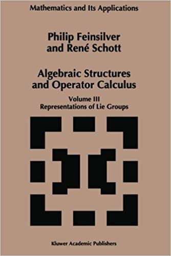Téléchargement ebook anglais gratuit Algebraic Structures and Operators Calculus: Volume III: Representations of Lie Groups (Mathematics and Its Applications) by P. Feinsilver (2012-07-31) B01JXUKU52 PDF ePub MOBI