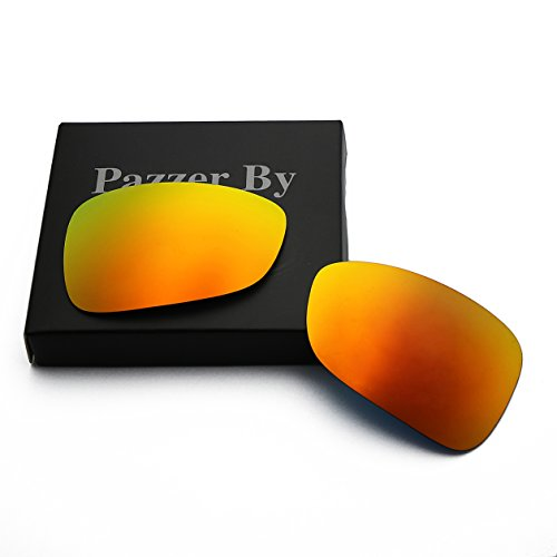 Polarized Replacement Lenses for Oakley Montefrio - Orange Red Mirrored - Montefrio Sunglasses