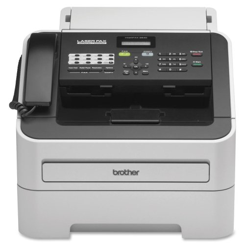 Brother Fax 2840 - Fax / Copier - B/W - Laser - Legal (8.5 In X 14 In) (Original) - Legal (216 X 356 Mm) (Media) - Up To 21 Ppm (Copying) - 250 Sheets - 33.6 Kbps - Usb 2.0 Product Type: Multifunction/Office/Fax Machines by O.E.M.