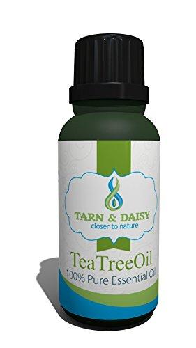 Tarn & Daisy Teebaumöl, 100% reines ätherisches Öl 30ml, antiseptisch, antimykotisch, entzündungshemmend, antibakteriell, hautsympathisch