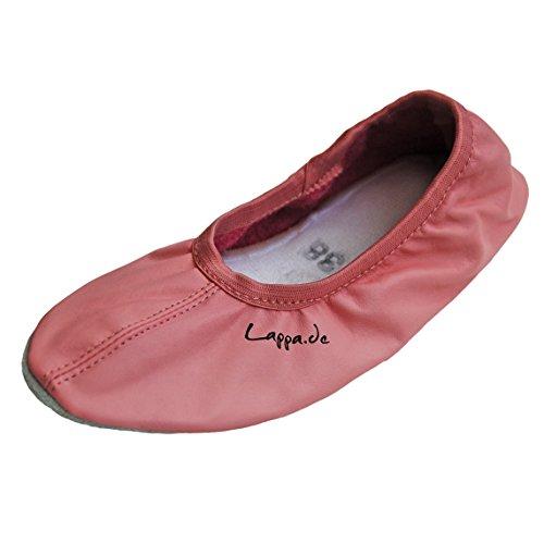 244G 44 rosa noir Multicolore Chaussures turnschläppchen gummisohle gr avec Danse 38 chaussure 242g 30 Ballet ATwOpq8x6