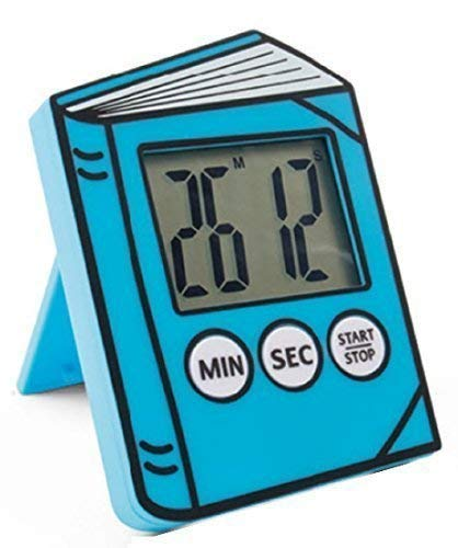 Fifi Children's Reading Timer Clip on Book or Stands Alone (Blue)]()