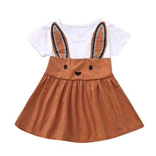 NUWFOR Toddler Baby Kids Girls Cartoon Rabbit Bunny