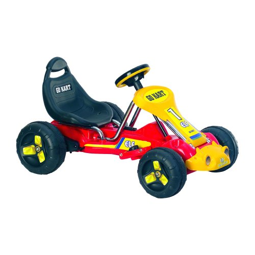 Ride On Toy Go Kart, Battery Powered Ride On Toy by Lil' Rider  – Ride On Toys for Boys and Girls, For 3  – 5 Year Olds (Red)