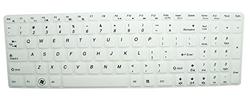Silicone Keyboard Protector Essential Semi White