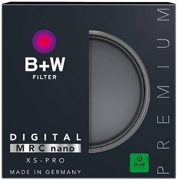 B+W UV-Haze 49mm, MRC Nano, XS-Pro, 16x verg/ütet, slim, Premium und Schutz-Filter