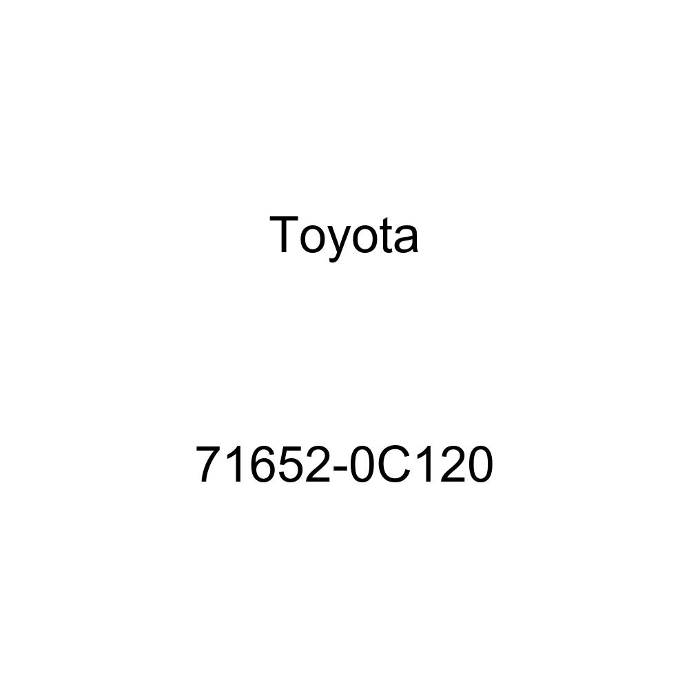 TOYOTA Genuine 71652-0C120 Seat Back Pad