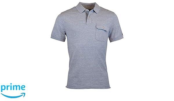 71557fe39 Tommy Hilfiger Mens Custom Fit Pocket Polo Shirt at Amazon Men s Clothing  store