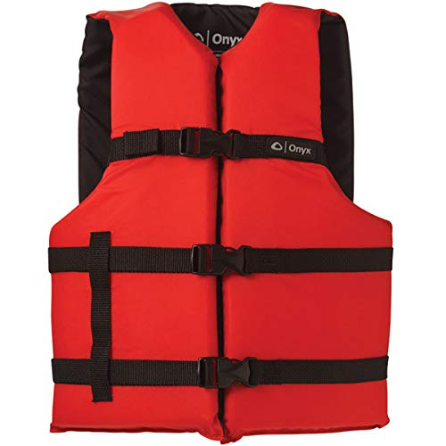 Absolute Outdoor Onyx General Purpose Flotation Vest - Red - Oversize Adult