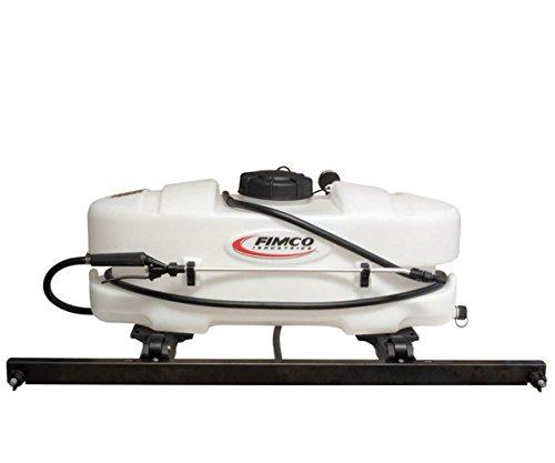 Fimco 15 Gallon ATV Sprayer with 2 Nozzle Boom Spray - Corrosion Resistant 2.1 (Fimco Boom)