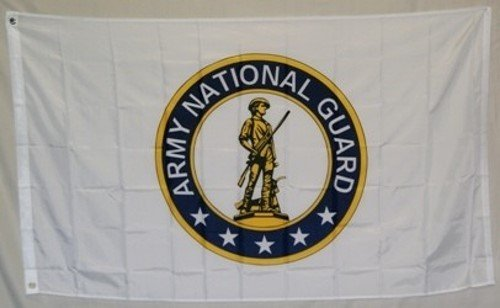 3'x5' US ARMY NATIONAL GUARD Polyester Flags