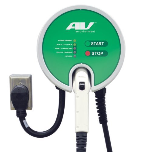 Aerovironment Ev Charger  Plug In  25Cable  30A  7 2Kw  Ul Listed