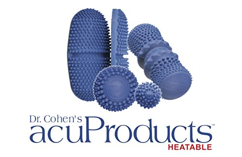 Dr. Cohen's Heatable acuBall - Deep Tissue Massage Set Deluxe for Muscle Pain ()