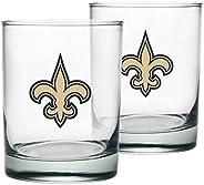 New Orleans Saints Rocks Glass Set