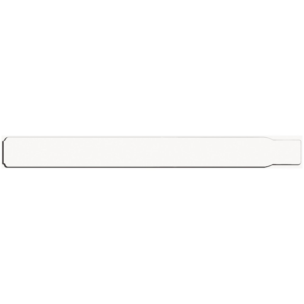 PDC Healthcare ScanBand 7042-11-PDM Adult Direct Thermal Wristband, Adhesive Closure, 1.5'' Core Size, 5'' OD, White (Box of 500)